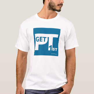 T-shirt La chemise des hommes de GetPT1st avec le logo