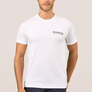 T-shirt La chemise des hommes de P.R. de festin - logo à