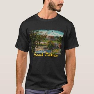 T-shirt La chemise des hommes de parc d'état de Custer