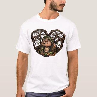 T-shirt La chemise des hommes de Romant-Ik