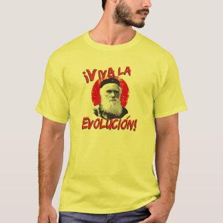 T-shirt La chemise des hommes d'Evolucion Darwin de La de