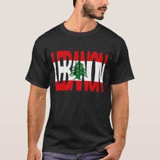 T-shirt La chemise des hommes du LIBAN