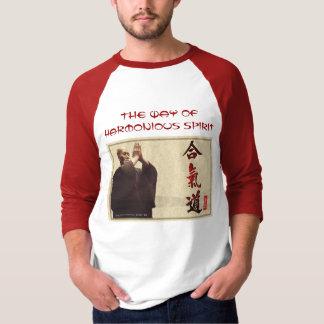 T-shirt la chemise des hommes harmonieux d'esprit
