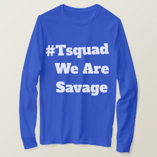 T-shirt la chemise des longs de douille hommes de #Tsquad
