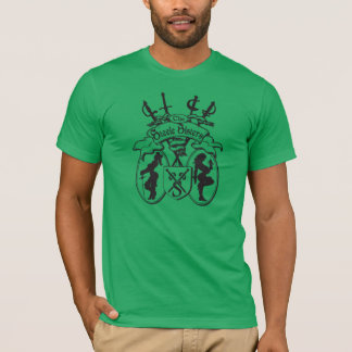 T-shirt La chemise d'hommes verts de soeurs de Steele