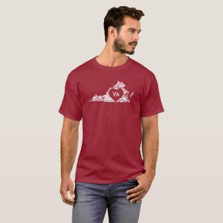 T-shirt La chemise d'I d'amour de la Virginie d'hommes