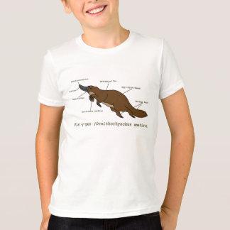 T-shirt La chemise extraordinaire d'ornithorynque