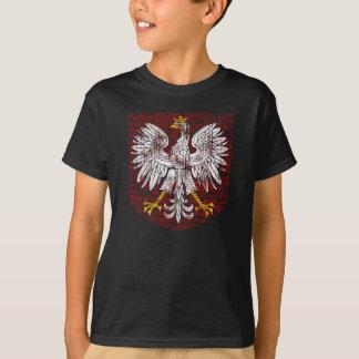 T-shirt La chemise foncée des enfants polonais d'Eagle
