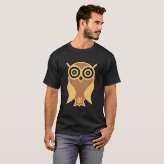 T-shirt La chemise foncée des hommes sages modernes de