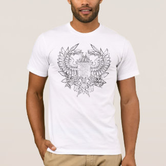 T-shirt La chemise légère des hommes bizantins d'Eagle