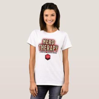 T-shirt La chemise nerd des femmes de thérapie