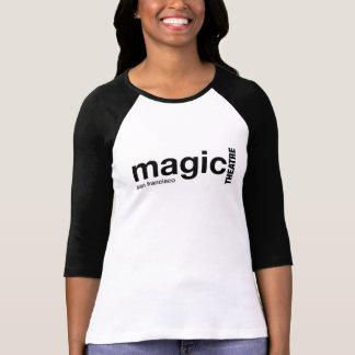 T-shirt La chemise raglane gainée par noir magique des