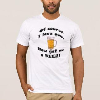 T-shirt La chemise romantique de l'homme marié