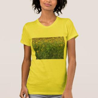 T-shirt La chemise sauvage de tournesols