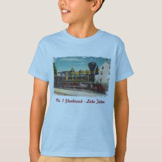 T-shirt La chemise vintage de l'enfant locomotif