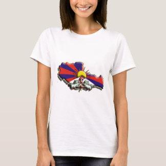 T-shirt La Chine : Le Thibet (3d)