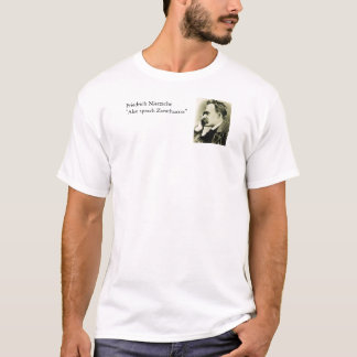 T-shirt La citation célèbre de Nietzsche