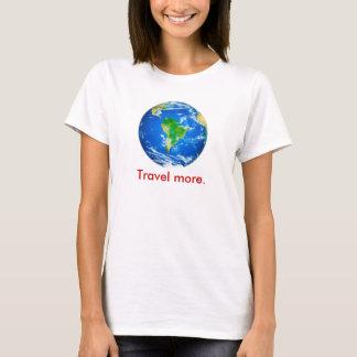 T-shirt La citation de voyage de Mark Twain soutiennent