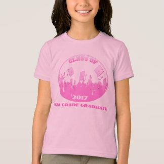 T-shirt La classe de et présentent le 5ème diplômé de