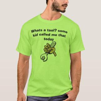 T-shirt la clé, ce qui est un outil ? un certain enfant