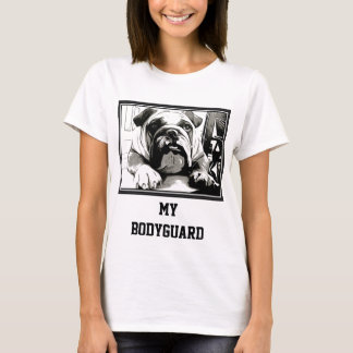 "T-shirt La collection ""de bouledogue anglais"""