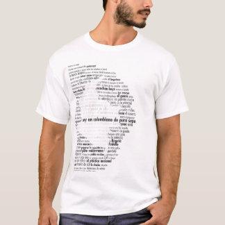 T-shirt La Colombie - le Colombiano De Pura Sepa