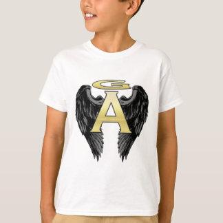T-shirt La conception d'ange de Gabriel s'envole le logo