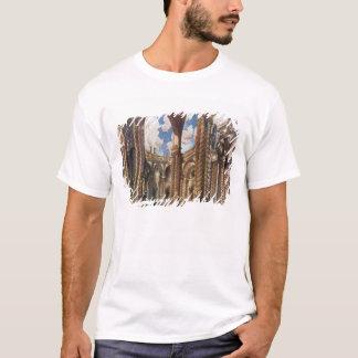 T-shirt La conception de paysage pour les fiançailles, du