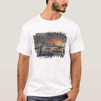 T-shirt La conflagration de Dalla sur la rivière de
