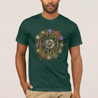 T-shirt LA CONNEXION DE PROSPÉRITÉ : Gemmes de la fortune