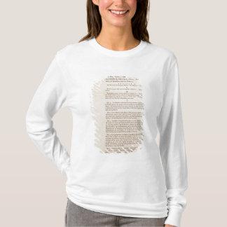 T-shirt La constitution d'Etats-Unis, 1787
