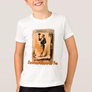 T-shirt La contorsion est amusement ! Affiche de cirque