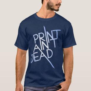 T-shirt La copie n'est pas morte