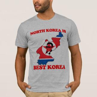 T-shirt La Corée du Nord est la meilleure Corée