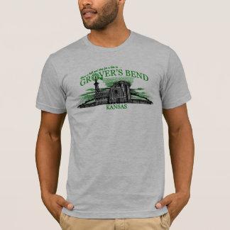 T-shirt La courbure de Grover