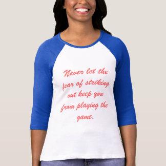 T-shirt La crainte de la frappe