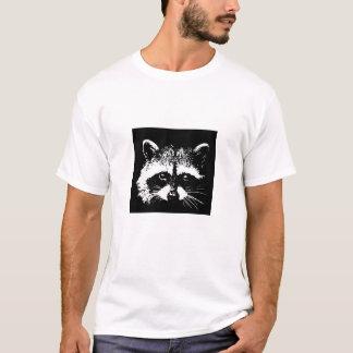 T-shirt La créature urbaine - visage de raton laveur -