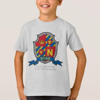 T-shirt La crête nommée de signification de Noé N adoube