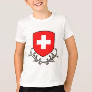 T-shirt La crête suisse badine la sonnerie