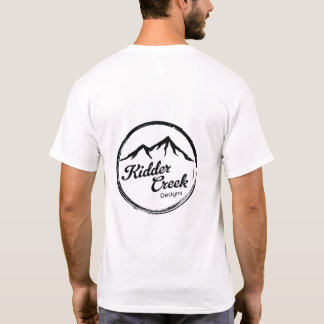 T-shirt La crique de Kidder conçoit le logo