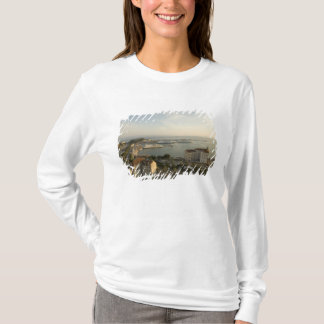 T-shirt La Croatie, Dalmatie, fente. Vue de Riva