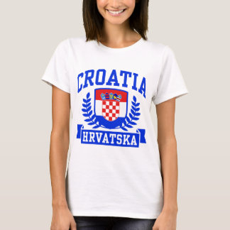 T-shirt La Croatie Hrvatska
