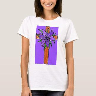 T-shirt La croix et le Lilly