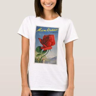 T-shirt La Cru-Voyage-Affiche-Montreux-Suisse