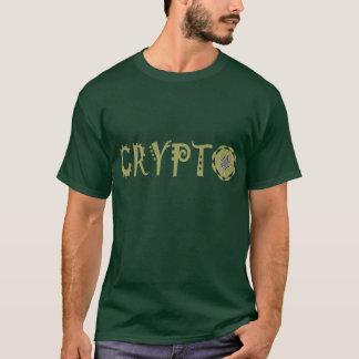 T-shirt La crypto fractale de Cryptocurrency marque avec