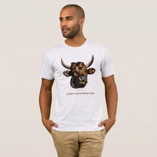 T-shirt la culture ne doit pas être une torture