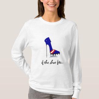 T-shirt La cuvette stylet New York mâche la pièce en t