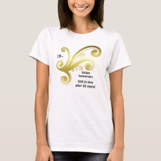 T-shirt La damassé victorienne tourbillonne anniversaire