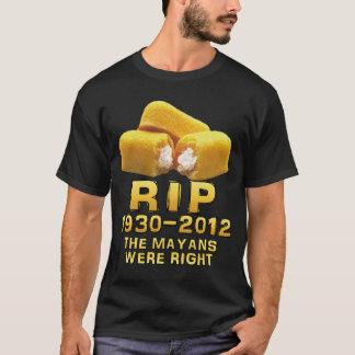 T-shirt La DÉCHIRURE 1930-2012 le Mayans étaient exacte
