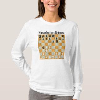 T-shirt La défense Nimzo-Indienne